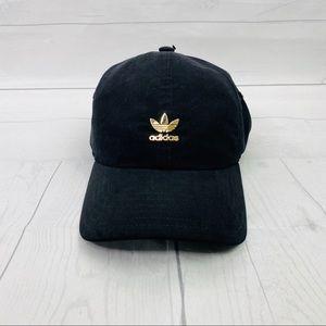 NWT Women's Adidas Black/ Gold Hat